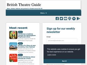 history of british theatre