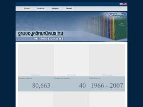 www thesis swu ac th Srinakharinwirot university is a government sponsored university located in bangkok, thailand it was established in 1949 as the higher teacher training school at prasarnmit and became the college of education in 1953.