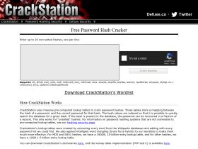 Crackstation net: crackstation - online password hash cracking - md5